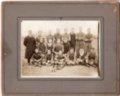 Lecompton High School Football Team, 1917, Lecompton, Kansas - front