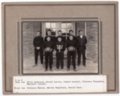 Lecompton Rural High School Basketball Team, Lecompton, Kansas - front