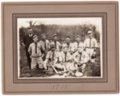 Lecompton Rural High School Baseball Team, Lecompton, Kansas - front
