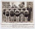 Lecompton High School Basketball Team, 1938, Lecompton, Kansas - front