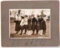 Lecompton High School Girl's Basketball team, Lecompton, Kansas - front