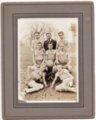 Lecompton High School Basketball Team 1917, Lecompton, Kansas - front