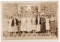 1932-1933 Freshman Class of Lecompton Rural High School, Lecompton, Kansas