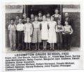 Lecompton Grade School, 1933, Lecompton, Kansas - front