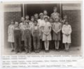 Fifth and Sixth Grade Class of Lecompton Rural Grade School, Lecompton, Kansas - front
