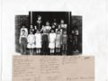 1930-1931 First and Second Grade Class Photo, Lecompton Grade School - front