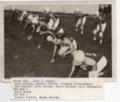 Lecompton Rural High School Football Team, Lecompton, Kansas - front