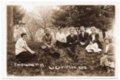 Lecompton High School Senior Class of 1915, Lecompton, Kansas - front