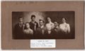 Lecompton High School Senior Class of 1907, Lecompton, Kansas - front
