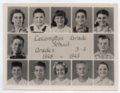 Lecompton Grade School, Third and Fourth Grades, 1948-1949, Lecompton, Kansas - front