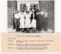 Lecompton Rural High School Graduate Class of 1937, Sophomore Year, Lecompton, Kansas - front