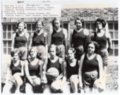 1933 Champion Women's Basketball team, Lecompton High School, Lecompton, Kansas
