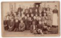 Early 1890's Lecompton Elementary School, Lecompton, Kansas - front