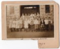 Early 1900's Lecompton Elementary Class, Lecompton, Kansas - front