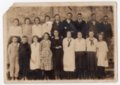 1924 Class of Lecompton Elementary School, Lecompton, Kansas - front