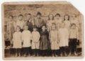 Lecompton Grade School about 1925, Lecompton, Kansas - front