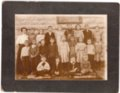 First Grade Class, Lecompton Grade School, Lecompton, Kansas - front