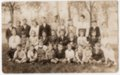 Sixth Grade Class, Lecompton Grade School, 1919, Lecompton, Kansas - front