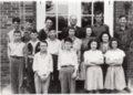 Freshman Class, 1941-1942, Lecompton High School, Lecompton, Kansas - front