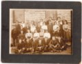 Lecompton High School Students, 1909, Lecompton, Kansas - front