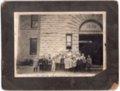 First and Second Grade Class, Lecompton Grade School, Lecompton, Kansas - front