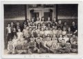Lecompton Grade School 1941-1942, Lecompton, Kansas - front