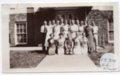 Lecompton High School Sophomore Class, 1934, Lecompton, Kansas - front