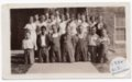 Lecompton High School Freshman Class, 1934, Lecompton, Kansas - front
