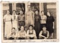 Lecompton 8th Grade Students 1936-1937, Lecompton, Kansas - front