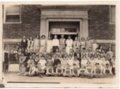 Lecompton Grade School, District 36, Lecompton, Kansas - front