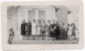 Women at Glenn School near Lecompton, Kansas - front