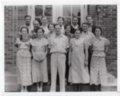 1935 Senior Class of Lecompton Rural High School, Lecompton, Kansas - front