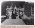 1934 Senior Class of Lecompton Rural High School, Lecompton, Kansas - front