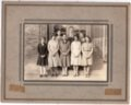 1933 Senior Class of Lecompton Rural High School, Lecompton, Kansas - front