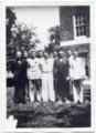 1936 Boys in the Senior Class of Lecompton Rural High School, Lecompton, Kansas - front