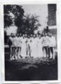 1936 Senior Class of Lecompton Rural High School, Lecompton, Kansas - front