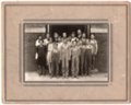 Seventh and Eighth Grade Classes of Lecompton Grade School, 1931, Lecompton, Kansas - front