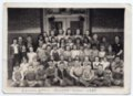 Lecompton Elementary School Students 1939, Lecompton, Kansas - front