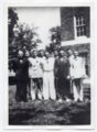 1936 Lecompton Rural High School graduates, Lecompton, Kansas - front