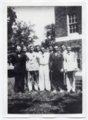 1936 Lecompton Rural High School graduates, Lecompton, Kansas - front