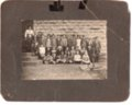 1914 Lecompton Fourth Grade; Lecompton, Kansas - front