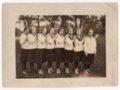 Lecompton Girl's Basketball Team 1923-24, Lecompton, Kansas - front