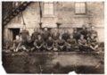 Lecompton Rural High School Football Team, 1926, Lecompton, Kansas - front