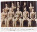 Lecompton High School Basketball Champs, 1935, Lecompton, Kansas - front