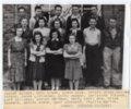 1941 Senior Class of Lecompton Rural High School, Lecompton, Kansas