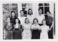1939 Senior Class of Lecompton Rural High School, Lecompton, Kansas - front