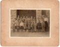 Lecompton Grade School grades 1-3, Lecompton, Kansas - front
