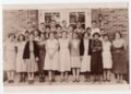 1932-1933 Freshman Class of Lecompton Rural High School, Lecompton, Kansas - front