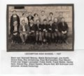 Lecompton High School, Class of 1927, Lecompton, Kansas - front