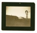 Barnyard and windmill, Butler County, Kansas - front